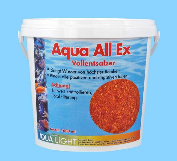 Vollentsalzerharz Aqua All Ex - 1000ml für Süßwasser
